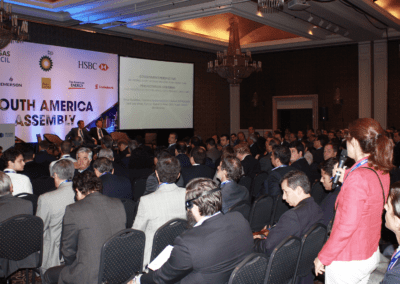 Floor Q&A at Oil & Gas Council South America Assembly