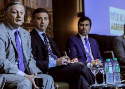 Juan Jose Aranguren, Jose Luis Vittor, Orlando Velandia, Oscar Roldan at South America Assembly