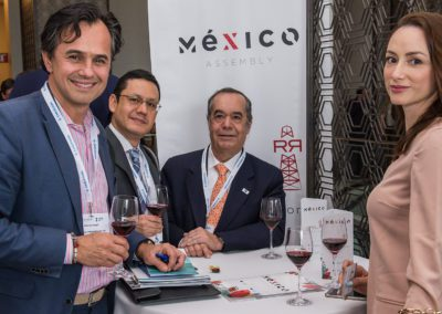Networking drinks reception at Mexico Assembly 2018
