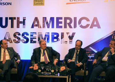 Panel discussion with Diego Garzon Nicolas Mallo Huergo Richard Soies and Paul Zecchi