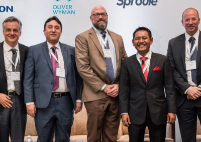 Speakers from the Deep Offshore E&P Projects panel at Mexico Assembly 2018