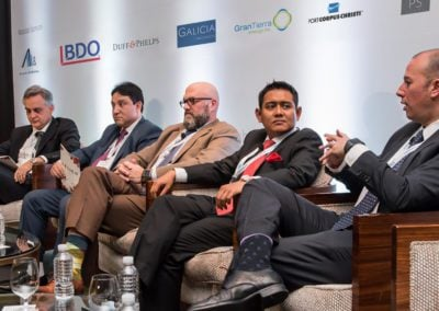 Speakers from the Deep Offshore Panel at Mexico Assembly 2018