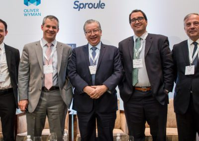 Speakers from the E&P Shallow Offshore panel