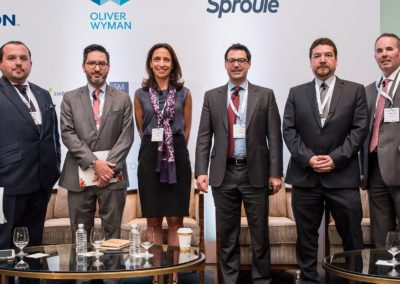 Speakers from the Gas Infrastructure panel at Mexico Assembly 2018