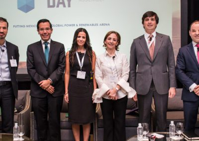 Speakers from the Supply & Demand & other factors affecting Renewables in Mexico panel